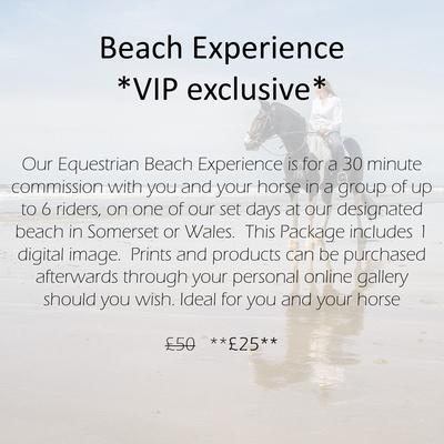 vip beach package